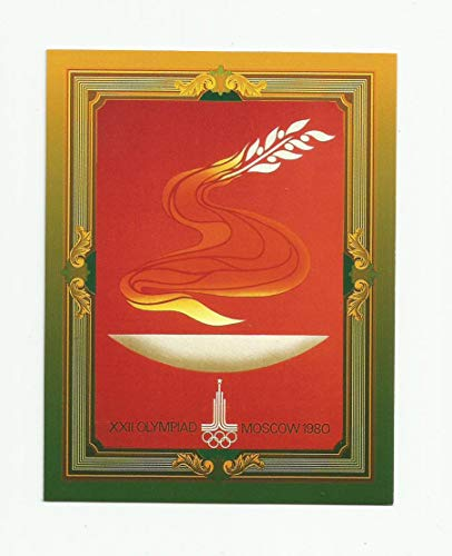 1992 Collect-A-Card Olympic Poster Card - 1980 Summer Games XXII Moscow #TSC-10