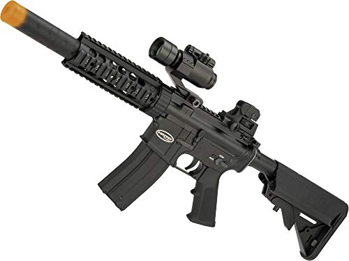 Evike Matrix Full Metal Gas Blowback Airsoft Rifle with Western Arms Gas System (Model: M4 Jungle Carbine)
