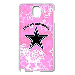 WY-Supplier New Ultra clear color high-definition image NFL Dallas Cowboys Samsung Galaxy Note 3 phone case, NFL Dallas Cowboys phone case Slim-fit Cover, Vazza