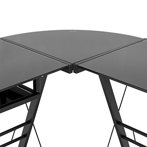 desk pc computer table work corner gaming table home office desk
