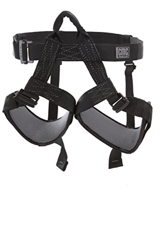 CMC Rescue 202407 HARNESS TACTICAL RAPPEL BLK by CMC