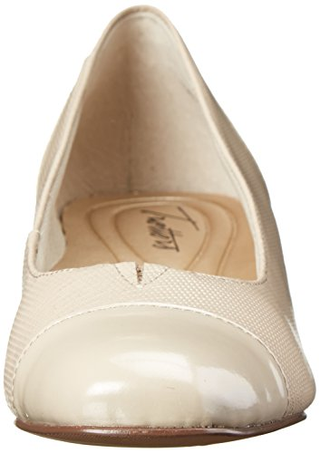 Trotters Embossed Women's Pump Nude Dress Danelle 4wB4q6f