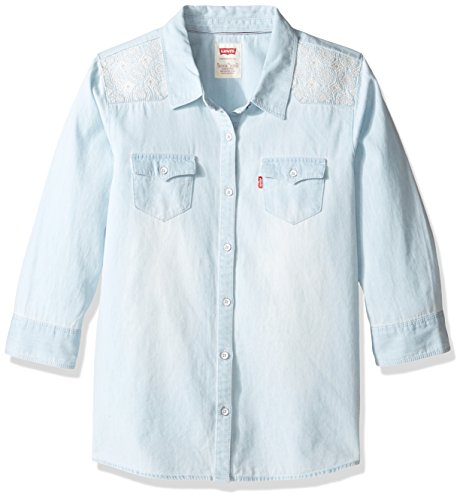 Levis Girls Western Denim Shirt