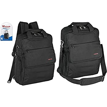 Amazon.com: Ruggan Business Convertible Backpack For 14 Inch ...