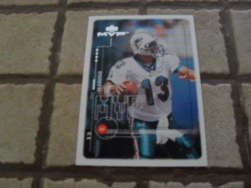 1999 Upper Deck Mvp Dan Marino #54 Football Card