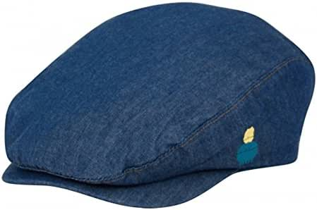Angela & Williams Baby Childrens Unisex Indoor/Outdoor Lightweight Denim Blue Kids Ivy Cap