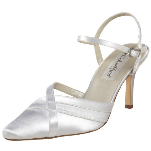 Coloriffics Metallic Sandals - Coloriffics Women's Heather Sandal,White,8 M US