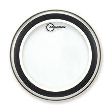 Aquarian SX15 Drumheads Studio-X Clear 15-Inch Tom Tom Drum Head