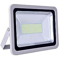 SMD LED Floodlight Waterproof 150W 110V 6000-6500K Cool White 2PCs
