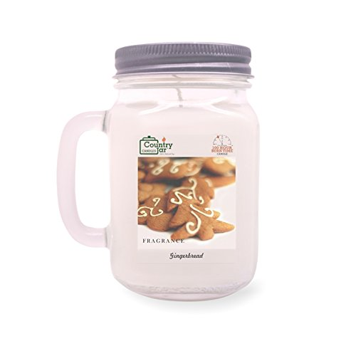 Country Jar Gingerbread Soy Candle (14.5 oz. Mason Jar) Spring Pick-3 Sale! See Details.