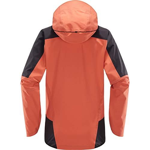 L Femme i Imperméable Haglöfs Pink Slate Touring Proof Veste Coral m Jacket 8qddpwUx