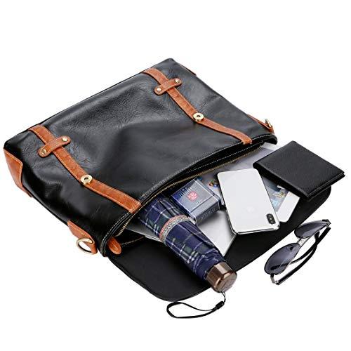 Bag Borsa nero Men tracolla Messenger Business Document a Mkulxina colore Nero Computer gfn5wxqpn6