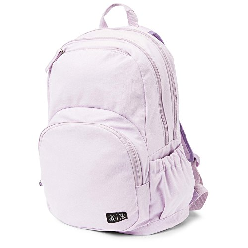 Volcom Junior's Fieldtrip Canvas Backpack, blurred violet, One Size Fits All