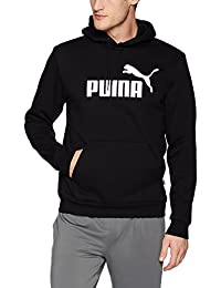PUMA Mens Essential Hoodie Fleece Big Logo Sweatshirt Hoodies & Sweatshirts