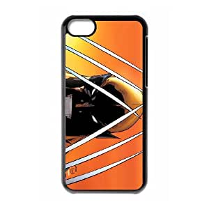 iPhone 5c Cell Phone Case Black Wolverine yuy loihz
