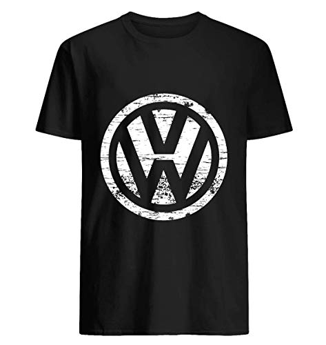VW Volkswagen Logo 40 Cotton short sleeve T shirt, Hoodie for Men Women Unisex (Vw Logo Tshirt)
