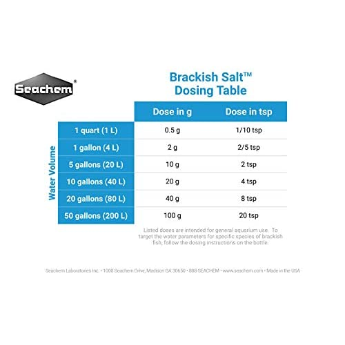 Image of Pet Supplies Brackish Salt, 20 kg / 44 lbs