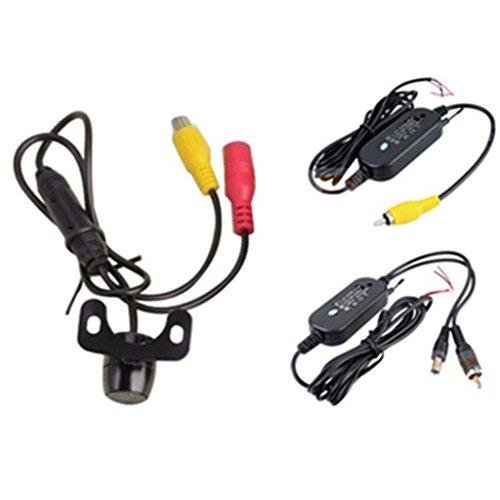 Dacawin 170° 2.4G Wireless Car Rear view Waterproof Reversing Camera (Black) by Dacawin (Image #1)