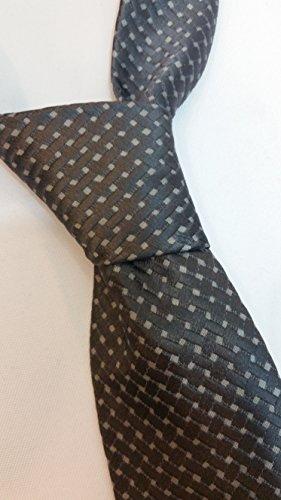 Tom Ford Men's Silver Gray Design Silk Neck Tie