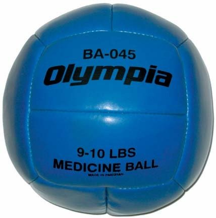 9 - 10 lb. Medicine Ball from Olympia Sports