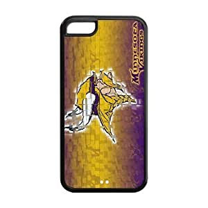 Customize Minnesota Vikings NFL Back Cover Case for iphone 5C