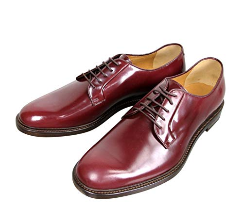 Gucci Lace-up Wine Red Leather Oxford 295618 6083 (9.5 G / 10.5 US)