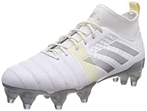 adidas Performance Mens Kakari X Kevlar Lace Up Soft Ground Rugby Boots - 6