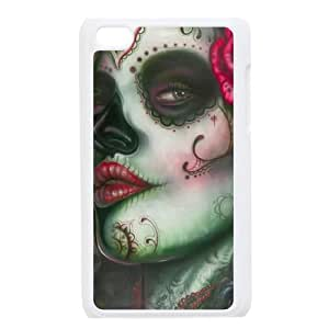 C-Y-F- Day of the dead girls Phone Case For Ipod Touch 4 [Pattern-4]