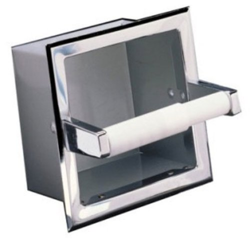 Taymor Hotel Chrome Recessed Toilet Tissue Holder