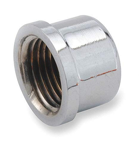 CAI Approved Chrome Plated Brass Cap, FNPT, 1/8