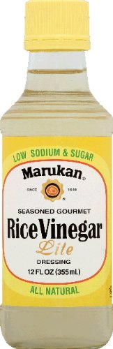 Seasoned Rice Vinegar Lite S (Pack of 6) by Marukan