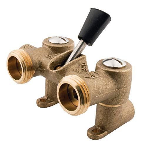 Kingston Brass KF1000 1/2-Inch Sweat Inlet 3/4-Inch Height Stop Valve for Washing Machine, Brass