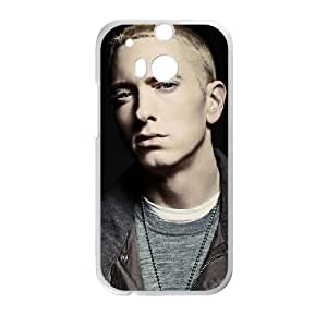 Eminem HTC One M8 Cell Phone Case White F9815289