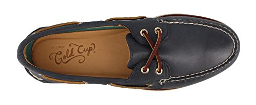 Sperry Mens, Gold Cup Autentico Originale Barca Scarpa Navy Multi 11 W