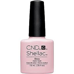 CND Shellac Nail Polish, Beau, 0.25 fl. oz.