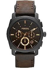 Fossil Reloj Cronógrafo para Hombre de Cuarzo con Correa en Cuero FS4656