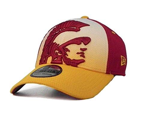 New Era Gradation 2 39thirty flex fit men's hat USC trojans multi-color cap (L/XL)