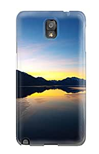Michael paytosh Dawson's Shop New Style 6785011K98607822 Hot Lake Sunset First Grade Tpu Phone Case For Galaxy Note 3 Case Cover