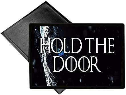 EandM Hold The Door Fan Made GOT Running Mat Welcome Mat 18×24 Outdoor Doormat Rug