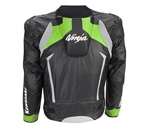 it Kawasaki Amazon E Auto In Moto Ninja Pelle Giacca Neroverde 2xl qSqr0