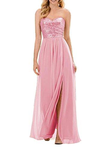 Engerla - Vestido - trapecio - Sin mangas - para mujer Rosa