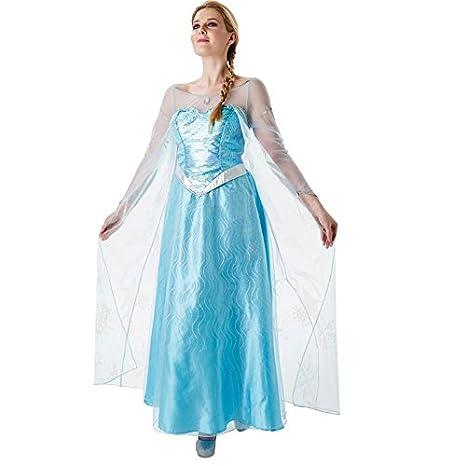 Rubies s – Disfraz de Elsa de Frozen, Adultos Oficial – Grande