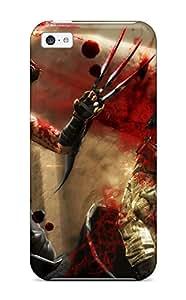 Premium Durable Ninja Gaiden Fantasy Anime Warrior Battle Blood Dark Fashion Tpu Iphone 5c Protective Case Cover