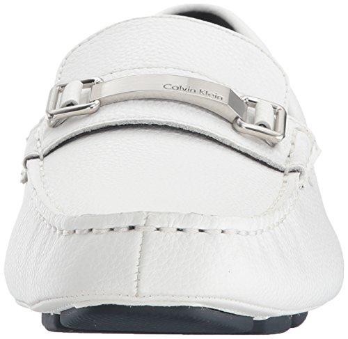 Calvin Klein Modello Uomo MIKOS Marca Colore Nero Nero White Tumbled Uomo Mocassini Mocassini xqUOB1rU