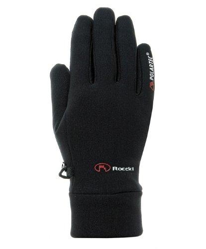 Roeckl Polartec Powerstretch Kasa schwarz (Größe Rahmen: 8) Handschuhe lange