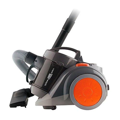 Aspirador De Pó Cyclone Mallory Preto/cinza Escuro/laranja