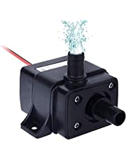 """Winkeyes DC 12V Submersible Fountain Pump with 118"""" High Lift, 3.6W Mini Electric Brushless Fountain Water Pumps"""