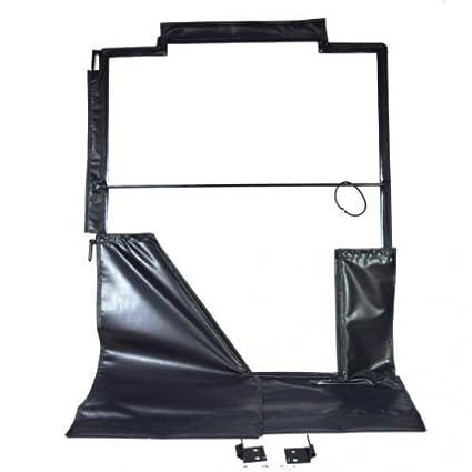 Amazon com: All Weather Enclosure Replacement Door Skid