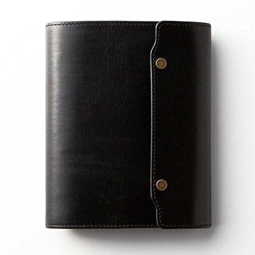 ノックス オーセン システム手帳 バイブルサイズ(フラップタイプ) ブラック   B01CTZ4T4Q