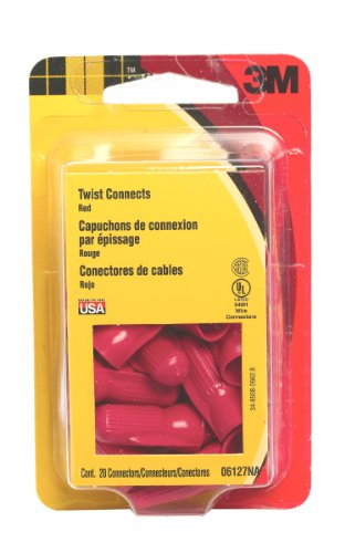 - 3M 6127NA Type R Scotchlok Twist Connects, 20-Pack